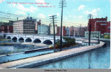 Erie Canal Aqueduct over Genesee River, Rochester, N.Y. [front caption] (1front) [e0232ac1]