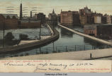 2458-Erie Canal Aqueduct, Rochester, N.Y.  [front caption] (1front) [e0371ac1]
