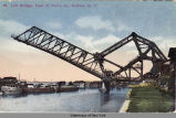 55 Lift Bridge, Foot of Ferry St., Buffalo, N.Y. [front caption] (1front) [e0278ac1]