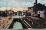 Locks No. 1and 2. looking West from Ovid Street, Seneca Falls, N.Y. [front caption] (1front)...