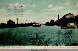 1214 - Erie Canal, Albion, N.Y. [front caption] (1front) [e0273ac1]