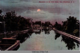 Moonlight on the Erie Canal, East Frankfort, N Y [front caption] (1front) [e0286ac1]