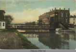 Lift bridge over Erie Canal, Illion, N.Y. [front caption] (1front) [e0419ac1]