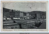 END OF CHAMPLAIN CANAL, BROAD AND CANAL STS., WHITEHALL, N.Y. [front caption] (1front) [c0049ac1]