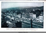 NORTH CANAL STREET AND CHAMPLAIN CANAL, WHITEHALL, N.Y. [front caption] (1front) [c0020ac1]
