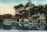 D. and H. Ry. Crossing, Champlain Canal, near Mechanicville, N. Y. [front caption] (1front)...