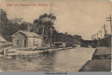 Weigh Lock Champlain Canal, Waterford, N.Y. [front caption] (1front) [c0035ac1]