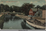 The Canal Lock, Fort Edward, N.Y. [front caption] (1front) [c0036ac1]