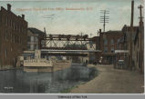 Champlain Canal and Post Office, Mechanicville, N.Y. [front caption] (1front) [c0050ac1]