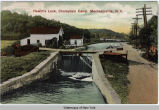 Hewitt's Lock, Champlain Canal, Mechanicville, N. Y. [front caption] (1front) [c0027ac1]