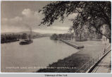 CHAMPLAIN CANAL AND RIVERSIDE PARK-WHITEHALL, N. Y. [front caption] (1front) [c0026ac1]