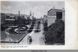 THE LOCKS, LOCKPORT, N.Y. [front caption] (1front) [e0173ac1]