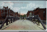 MAIN STREET, SOUTH FROM ERIE CANAL BRIDGE,  ALBION N. Y.  [front caption] (1front) [e0425ac1]