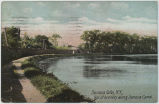 Seneca Falls, N.Y., Bits of Scenery along Seneca Canal [front caption] (1front) [s0024ac1]