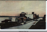 Guard Lock, Oswego Canal, Phoenix, N. Y. [front caption] (1front) [w0011ac1]
