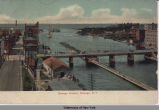 Oswego Harbor, Oswego, N.Y. [front caption] (1front) [w0016ac1]