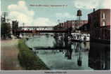 View on Erie Canal, Canajoharie, N.Y. [front caption] (1front) [e0434ac1]