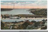 General View of Harbor and River, looking South, Kingston, N.Y. [front caption] (1 front)...
