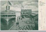 "4581-Landing of ""The Albany,"" Kingston Point, N. Y. [h0061ac1]"