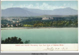 Catskill and Catskill Mountains, from East Bank of Hudson River. [front caption] (1front)...