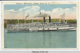 "Steamer  ""Berkshire,""  Hudson River, N. Y. [front caption] (1front) [h0015ac1]"