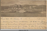 [Steamship Hendrick Hudson on the Hudson River] [untitled] (1front) [h0057ac1]