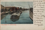 Erie Canal at Schenectady. [front caption] (1front) [e0255ac1]