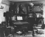 Parlor With Flags