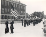 Siena College Historic Image, 1947 Marching band
