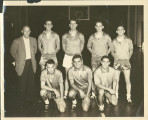 Siena College Historic image; Early Basketball Squad, 1959
