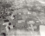 Siena College Historic Image, 1964 Aerial view of the Siena Campus from the south