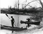Canoeing on the Little River, Canton