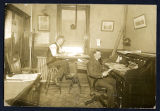 Interior of the Barge Canal Office at the Weighlock Building, Syracuse N.Y.