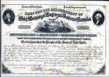 Bond document, State of N.Y. Canal Department