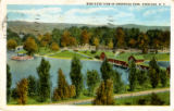 Bird's Eye View of Onondaga Park, Syracuse, N.Y. Postcard