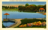 Picturesque View of Hiawatha Lake Postcard