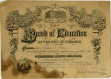 Syracuse Central High School Diploma; Donley, Alice M., 1907-01