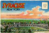 Souvenir Folder of Syracuse, New York