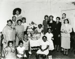 Bethany Baptist Church Seasonal Tea. Odessa Adams, Mrs. Murphy, Melvin Coleman, Susie Carter,...