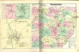 Atlas of Madison Co. New York, Map of Brookfield, South Brookfield, Clarkville