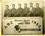 ABC Bowling Tournament Milwaukee 1952 Team from Syracuse Polish Home