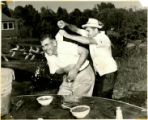 Clambake 1950's, ice down the shirt