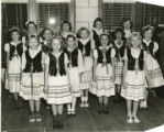 Polish Falcon's Youth Dance Group - 1954
