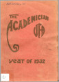 The Academician year of 1932