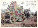 1894 Saratoga Floral Parade and Battle of Flowers Program