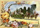 1897 Saratoga Floral Parade and Battle of Flowers Program