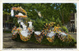 "1924 Chamber of Commerce Float, ""The Queen of Spas"""