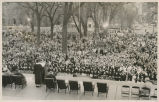 May Day in Capital Park 1954