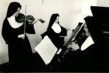 Nuns playing musical instruments