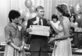 J.C. Penney Presenting Check at Miracle Network Telethon